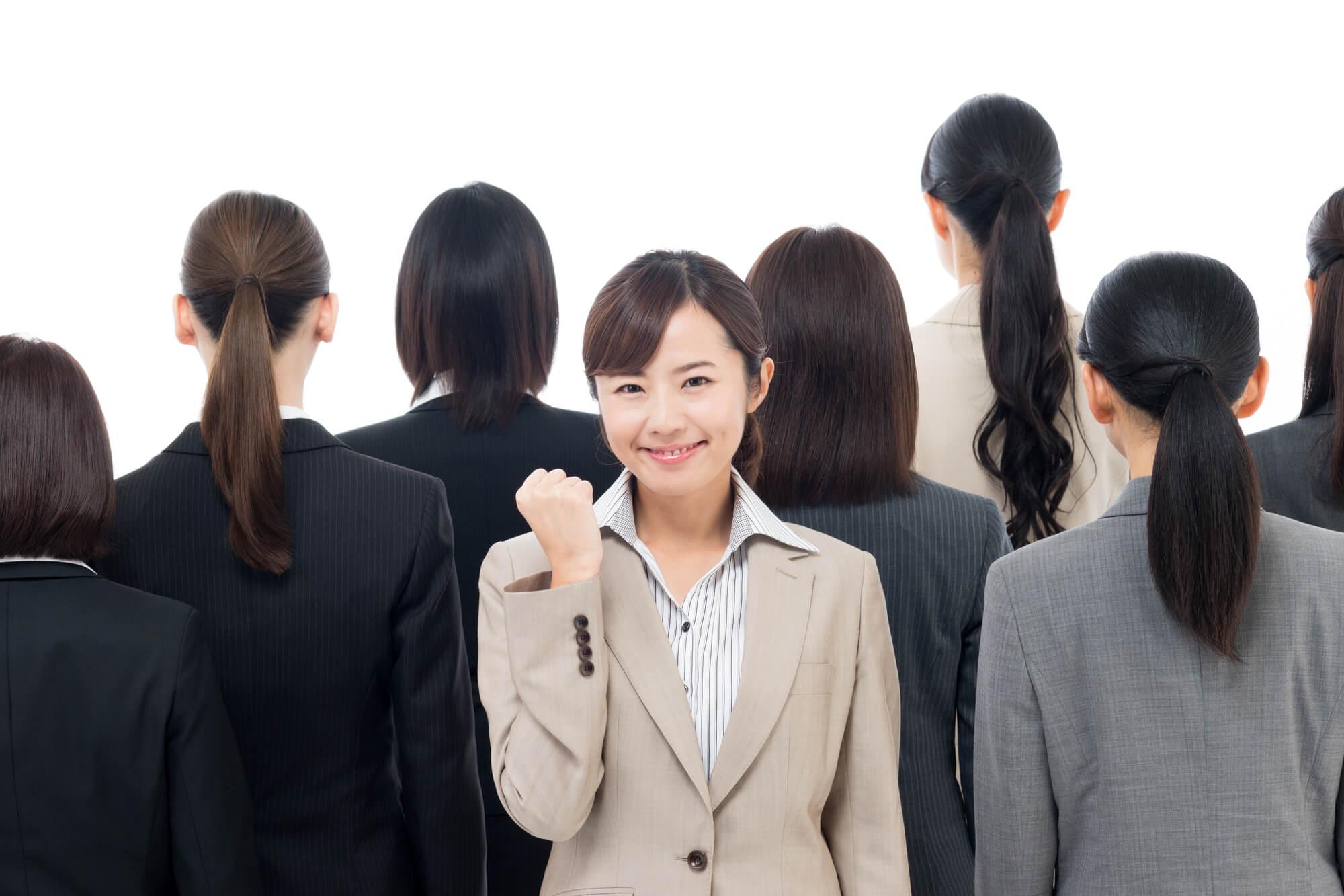 人間関係の悩みや問題を解決して一回り大きく成長した女性